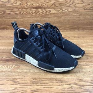 Adidas NMD_R1 Black Reflective Running Shoes